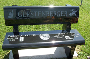 Quality Granite Bench Memorial