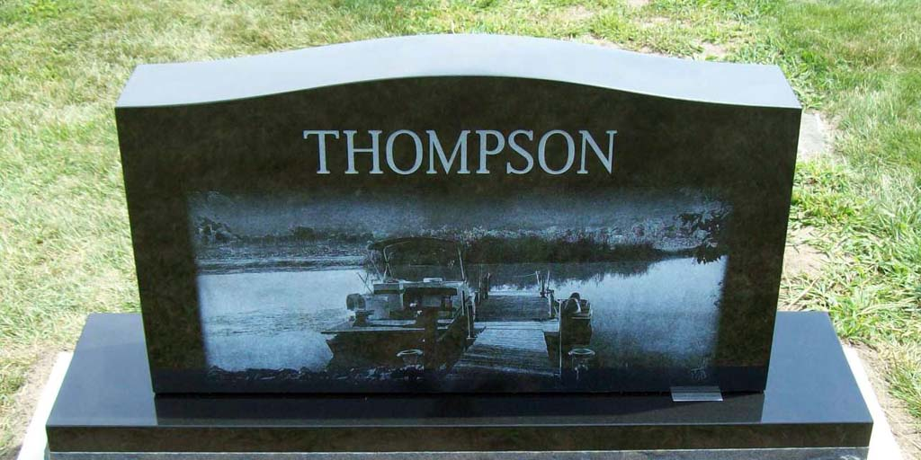 Celebration of Life with Memorial Headstones