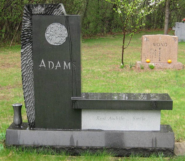 Granite Bench Memorial: A Custom Monument
