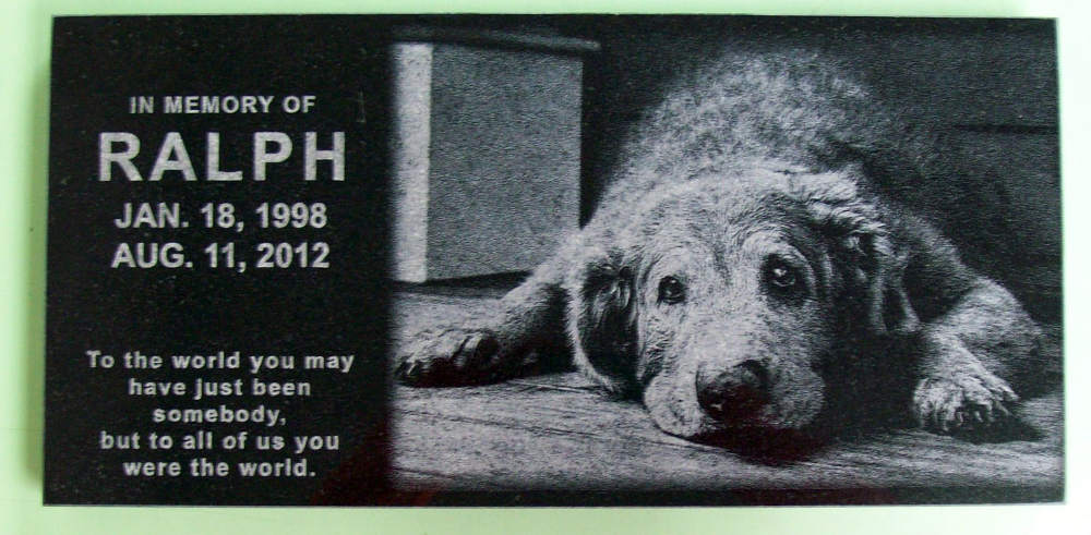 Memorial Headstones For Your Furry Companions